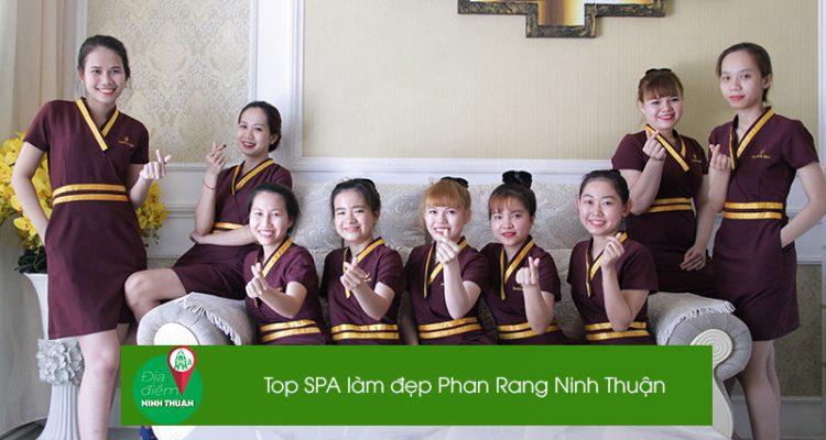 Top 6 Spa chất lượng tại Phan Rang