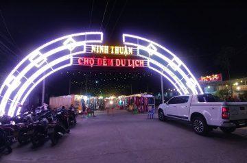 Chợ đêm du lịch – điểm nhấn mới của thành phố Phan Rang