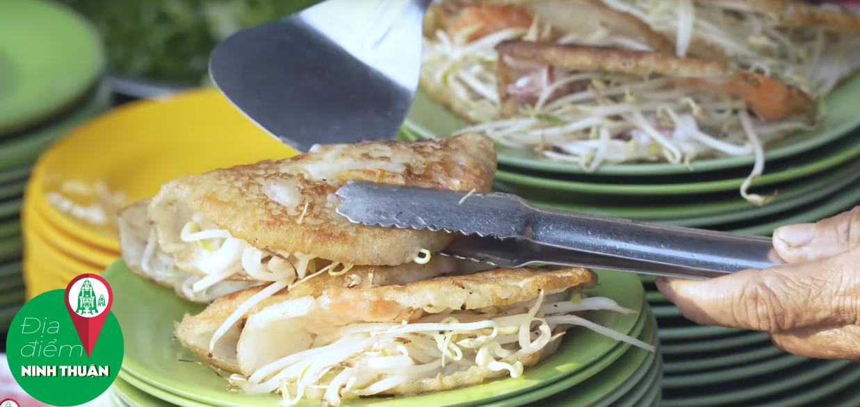 Bánh xèo Bích – đường Yên Ninh ngay Resort Thái Bình Dương