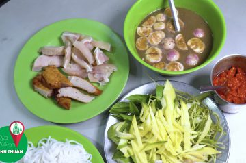 Thử 3 Quán bún mắm nêm ngon nhất tại Phan Rang