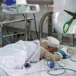 Bé trai 4 tuổi bị kéo đâm xuyên mắt, xuất huyết não
