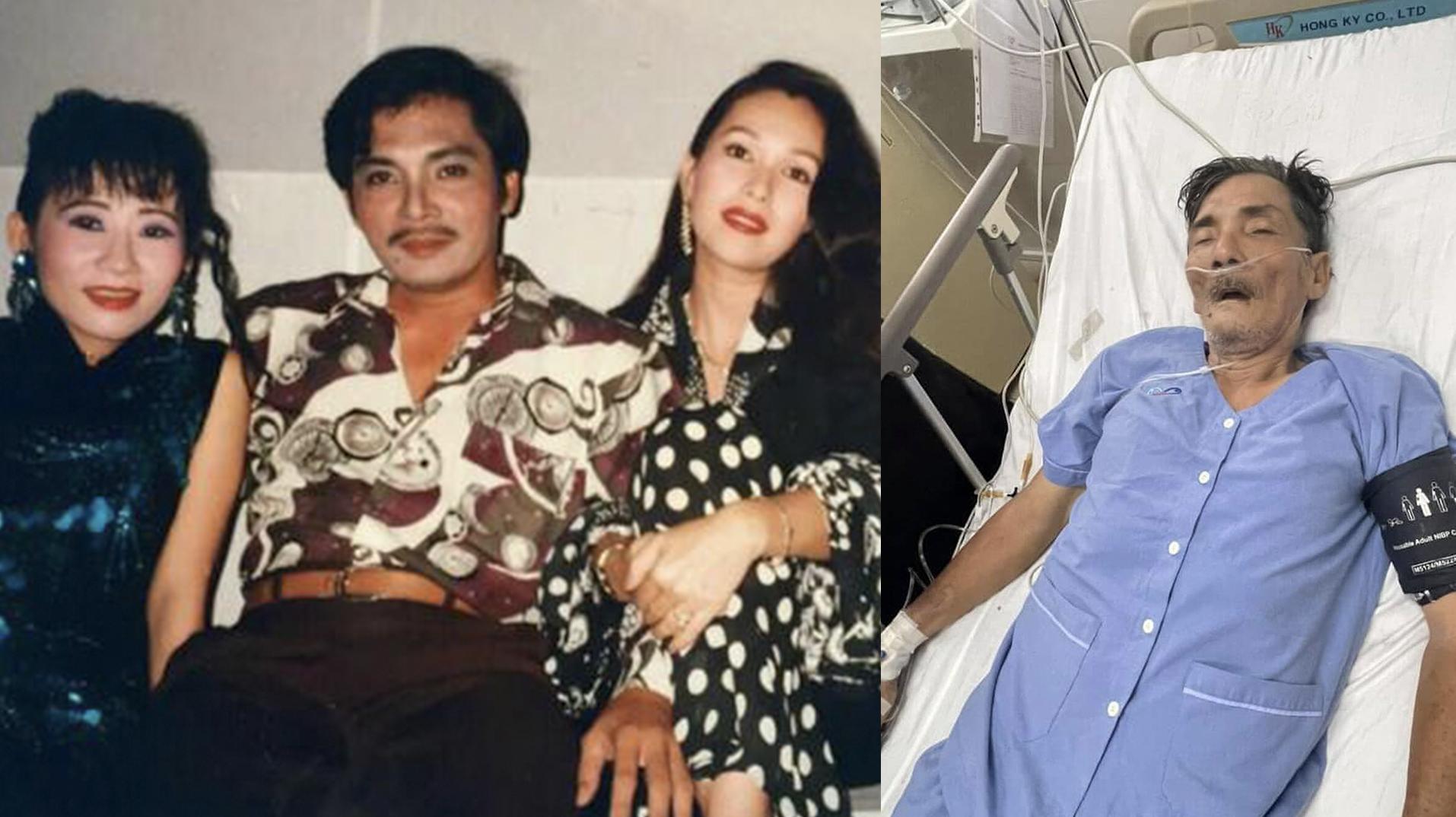 Người thân Thương Tín từ Ninh Thuận đón xe gấp vào Sài Gòn khi hay tin nam diễn viên bị đột quỵ